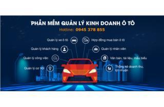 Phần mềm quản lý kinh doanh ô tô
